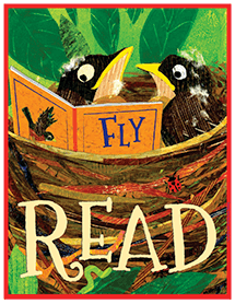 Fly READ poster